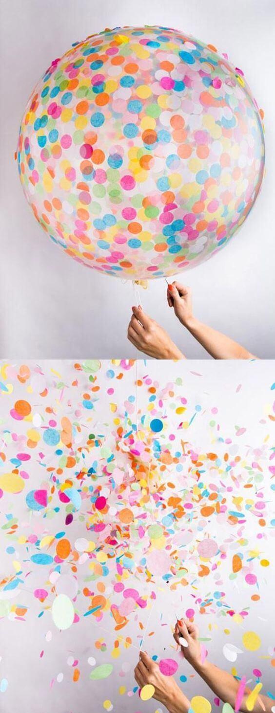 Evde Kolay Balon Süslemesi Yapımı