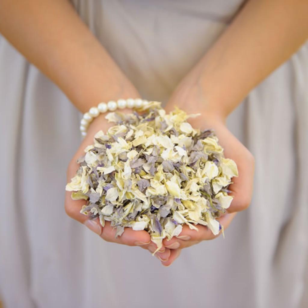 düğün fikirleri konfetini kendin yap