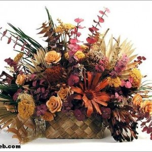 gelin çiçeğinizi kurutarak ömür boyu saklayın