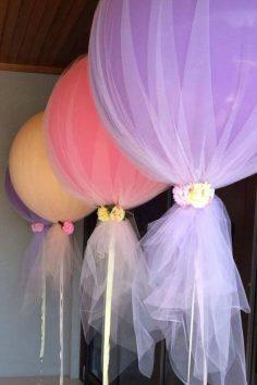 balon süsleme fikirleri